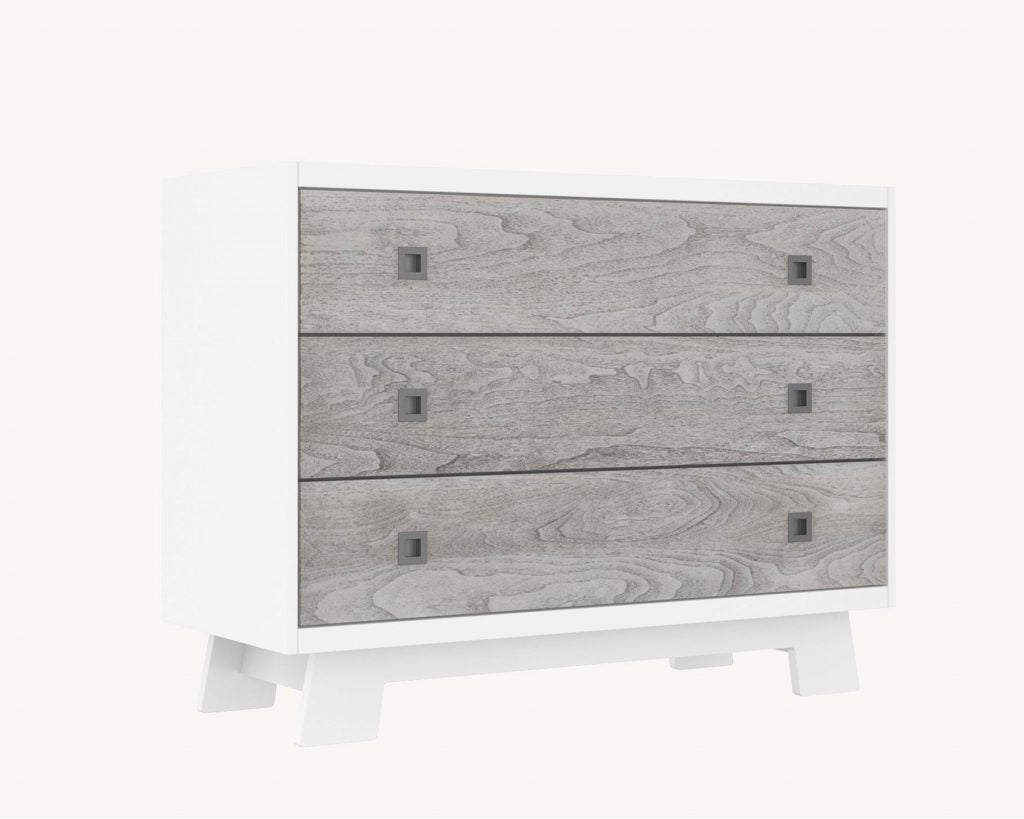 Dutailier Stock Program Pomelo 800 Three Drawer Dresser