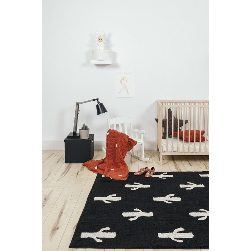 Lorena Canals Washable Rugs Cactus Stamp