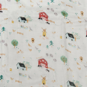 Loulou Lollipop Fitted Crib Sheet