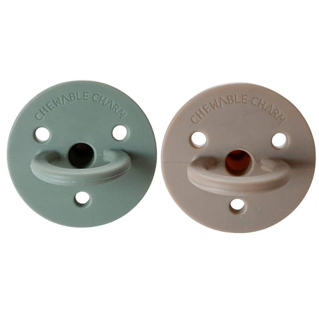 Chewable Charm Pacifiers (2 Pack)