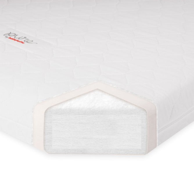 Babyletto Pure Non-Toxic Crib Mattress w/ Hybrid Waterproof Cover
