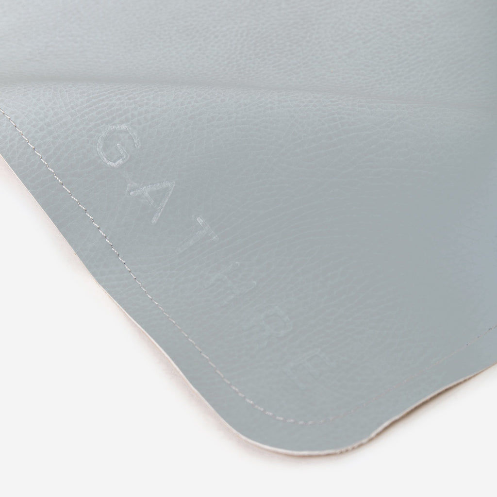 Gathre Mini Leather Highchair Mat, Tummy Time Mat, Playmat