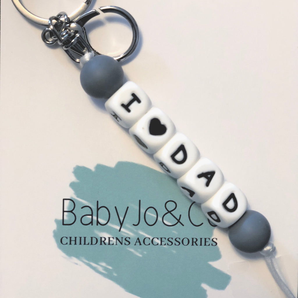 Baby Jo & Co. I Love Dad Keychain