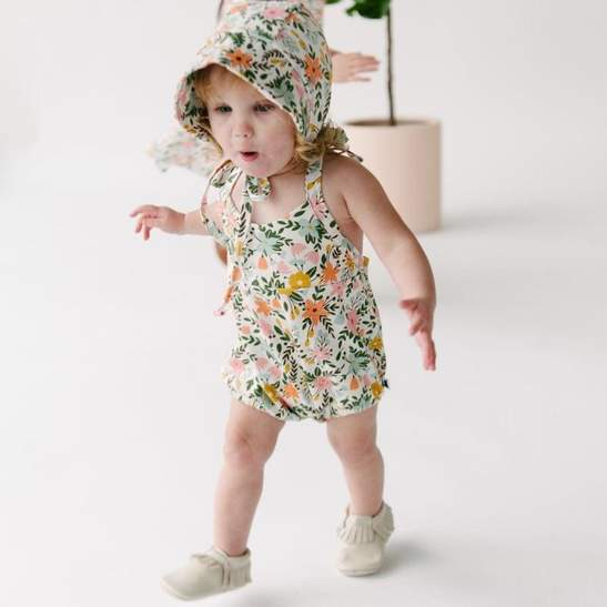 Little and Lively Sun Bonnet