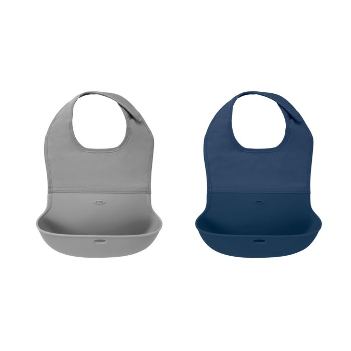 OXO tot Roll Up Bib 2 Pack