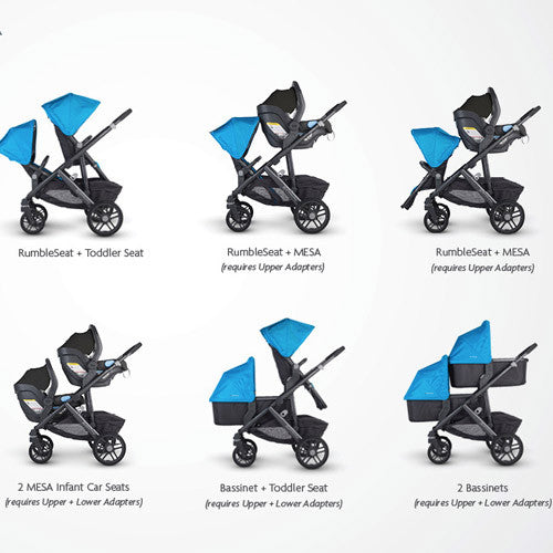 UPPAbaby Seat Adapters Hip Kids