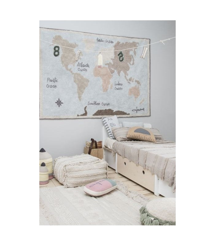 Lorena Canals Washable Rugs - Vintage Map
