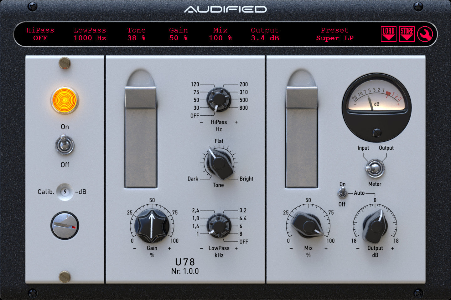 U78 Saturator: Parallel Effects on Female Voice   Audified