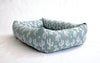 Bolster Bed, Cactus print