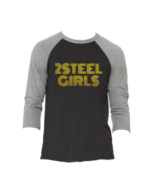 Logo Raglan (Metallic Gold or White)