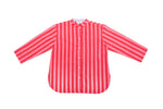SZ Guru Top in Red & Pink Stripe