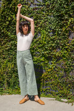 SZ Disco Pants in Moss Patti