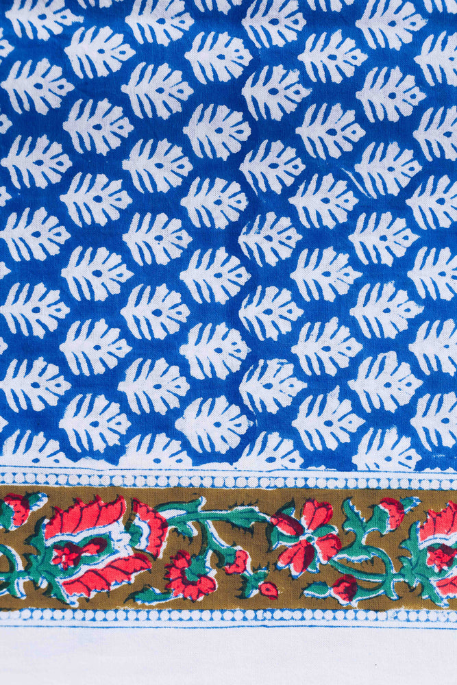 SZ Tablecloth in Sunita Blue