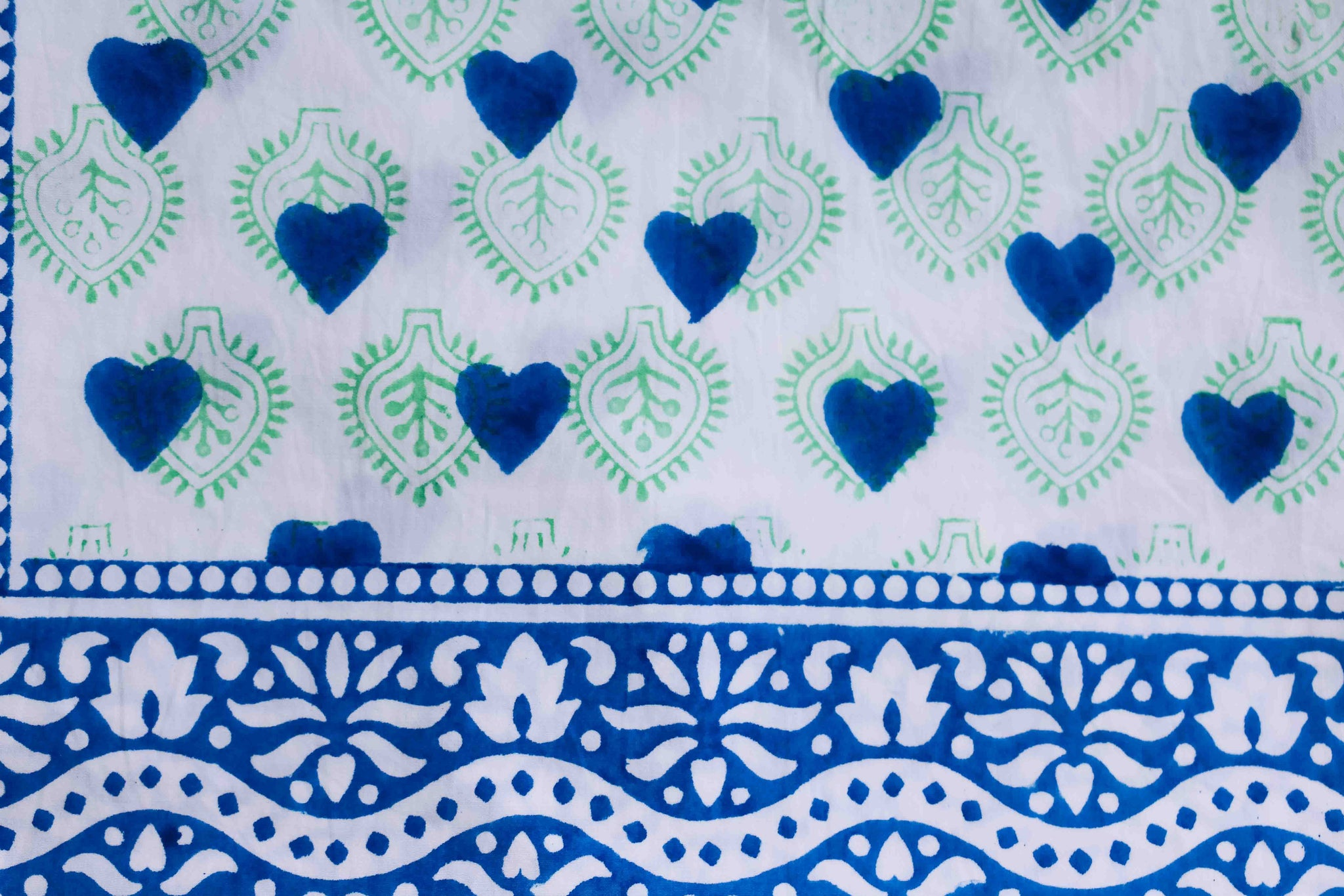 SZ Pillow Cases in Heart Stamp