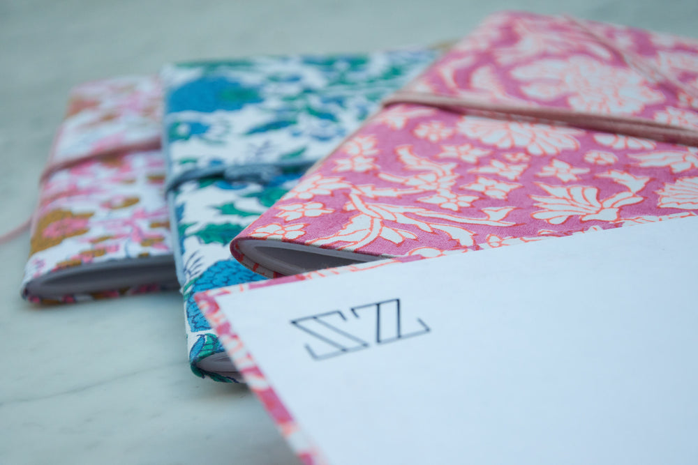 Handmade SZ Blockprints x Craft Boat, Jaipur Notebooks
