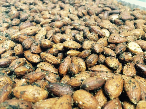 Savory Spiced Almonds