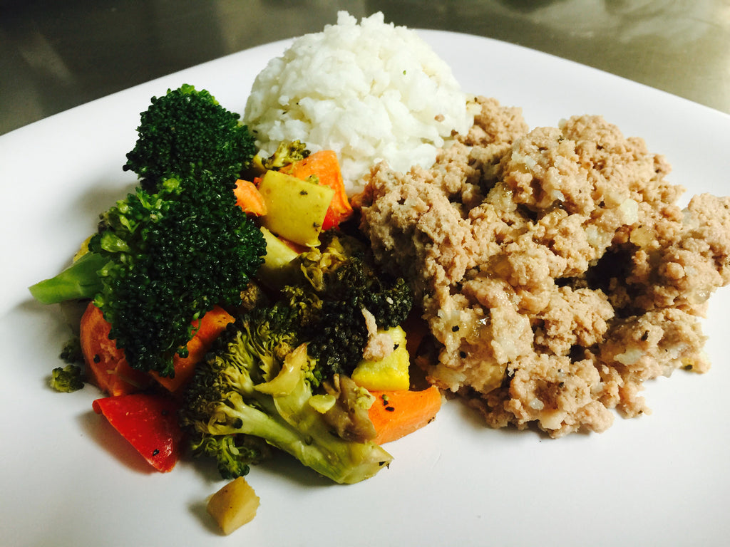 Ground Turkey Saute
