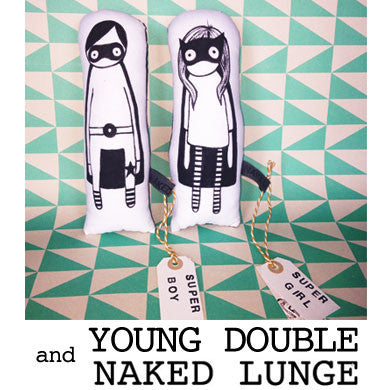 Young Double * Naked Lunge