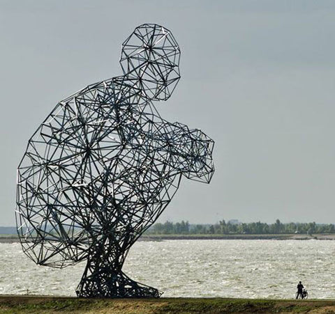 Antony Gormley Exposure, Lelystad