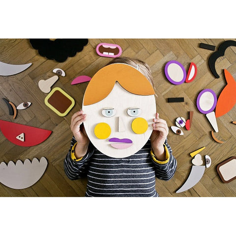 Make a Portrait wooden game by Shusha at The Pippa & Ike Show