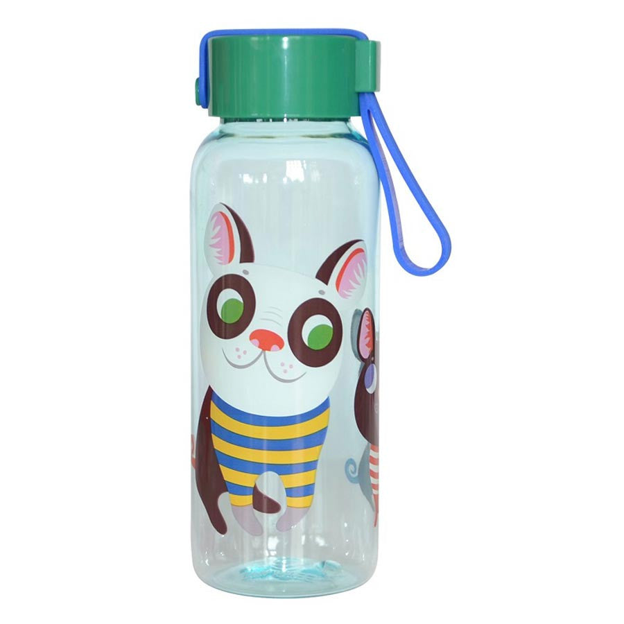 drinking bottle Dogs for kids by Helen Dardik for Petit Monkey