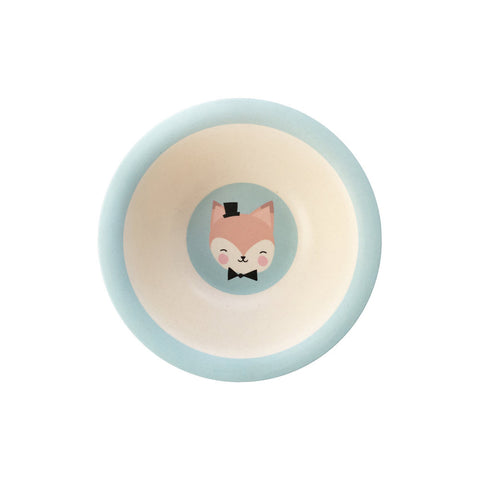 NEW * Bamboo bowl Lovely Animals Mister Fox - Eef Lillemor
