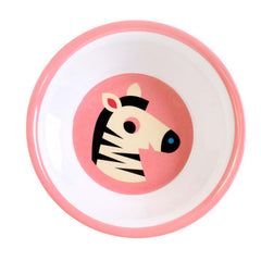 Melamine bowl Zebra by Ingela P Arrhenius for Omm Design