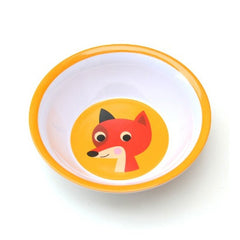 Melamine bowl fox by Ingela P Arrhenius for Omm Design