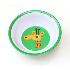 Melamine bowl giraffe by Ingela P Arrhenius for Omm Design