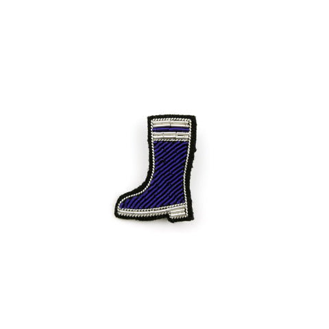 NEW * Rubber boot brooch