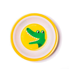 Melamine bowl crocodile by Ingela P Arrhenius for Omm Design