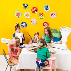 Melamine plates by Helen Dardik for Petit Monkey
