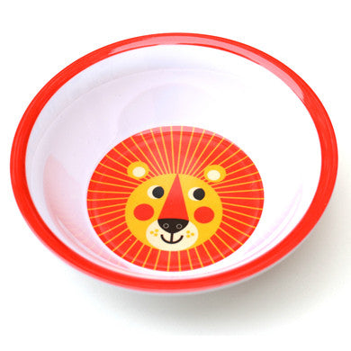 Melamine bowls, 9 different animals by Ingela P Arrhenius for Omm Design