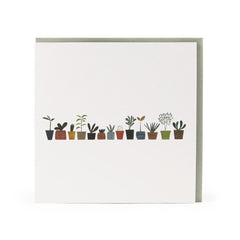 Little Plants greeting card - Blanca Gómez