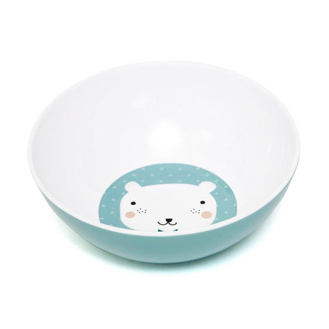 Melamine bowl Bear by Haciendo el Indio for Petit Monkey