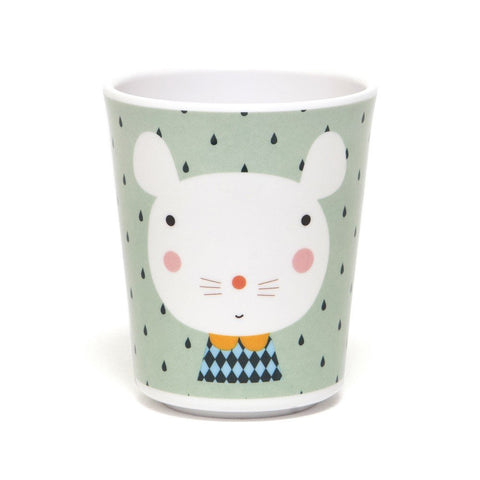 Melamine cup Mouse by Haciendo el Indio for Petit Monkey