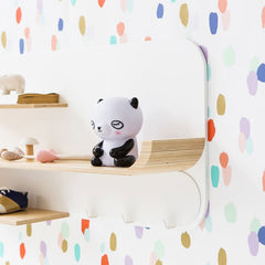 Panda night light for kids with LED light by Suzy Ultman for Petit Monkey