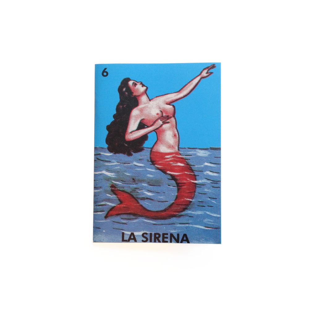 Notebook La Sirena by Kitsch Kitchen, A6, lined pages
