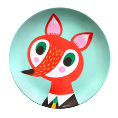 Melamine plate Fox by Helen Dardik for PSikhouvanjou