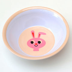 Melamine bowl rabbit by Ingela P Arrhenius for Omm Design
