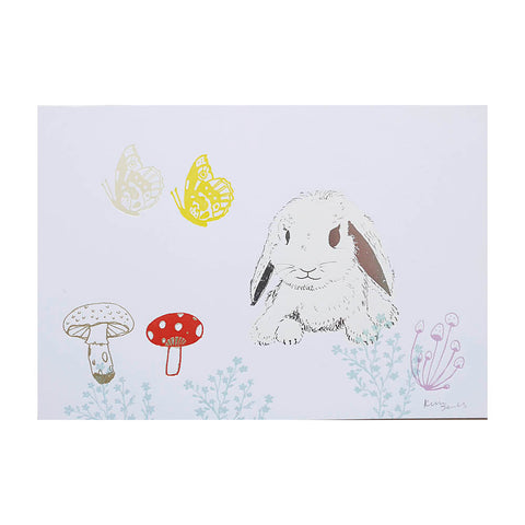 Cute rabbit print - Kim Jenkins