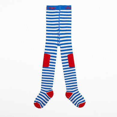 Regatta stripe tights for boys & girls by Little Titans - Braveling