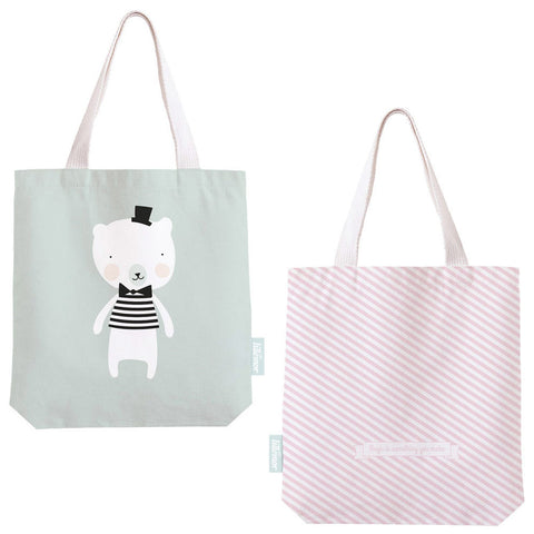 Cotton shopper Polar bear - Eef Lillemor