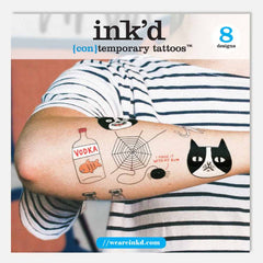 Ink'd temporary tattoos by Gemma Correll at The Pippa & Ike Show