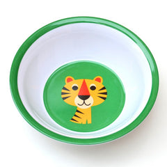 Melamine bowl tiger by Ingela P Arrhenius for Omm Design