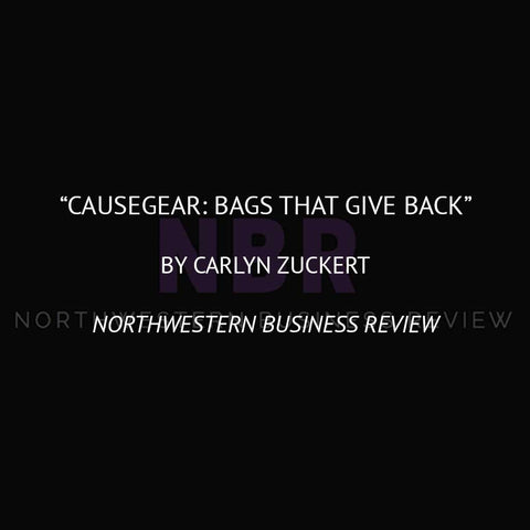 CAUSEGEAR: Bags that Give Back