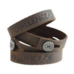 CHALLENGE CONFERENCE | Leather Bracelets - Embossing