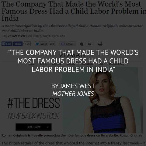 """The Company that made the World's Most Famous Dress..."" by James West"