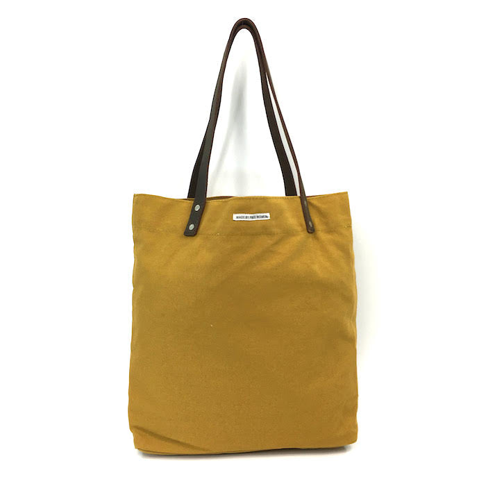 day tote. made by free woman. tote bags canvas. hand made. justice. tote bags wholesale. tote bags for school. tote bag with zipper. high quality tote bags. canvas tote bags with zipper. Eco bags. mustard
