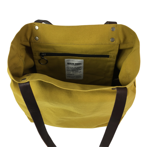 DAY TOTE MUSTARD